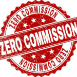 ZERO COMMISSION seal stamp