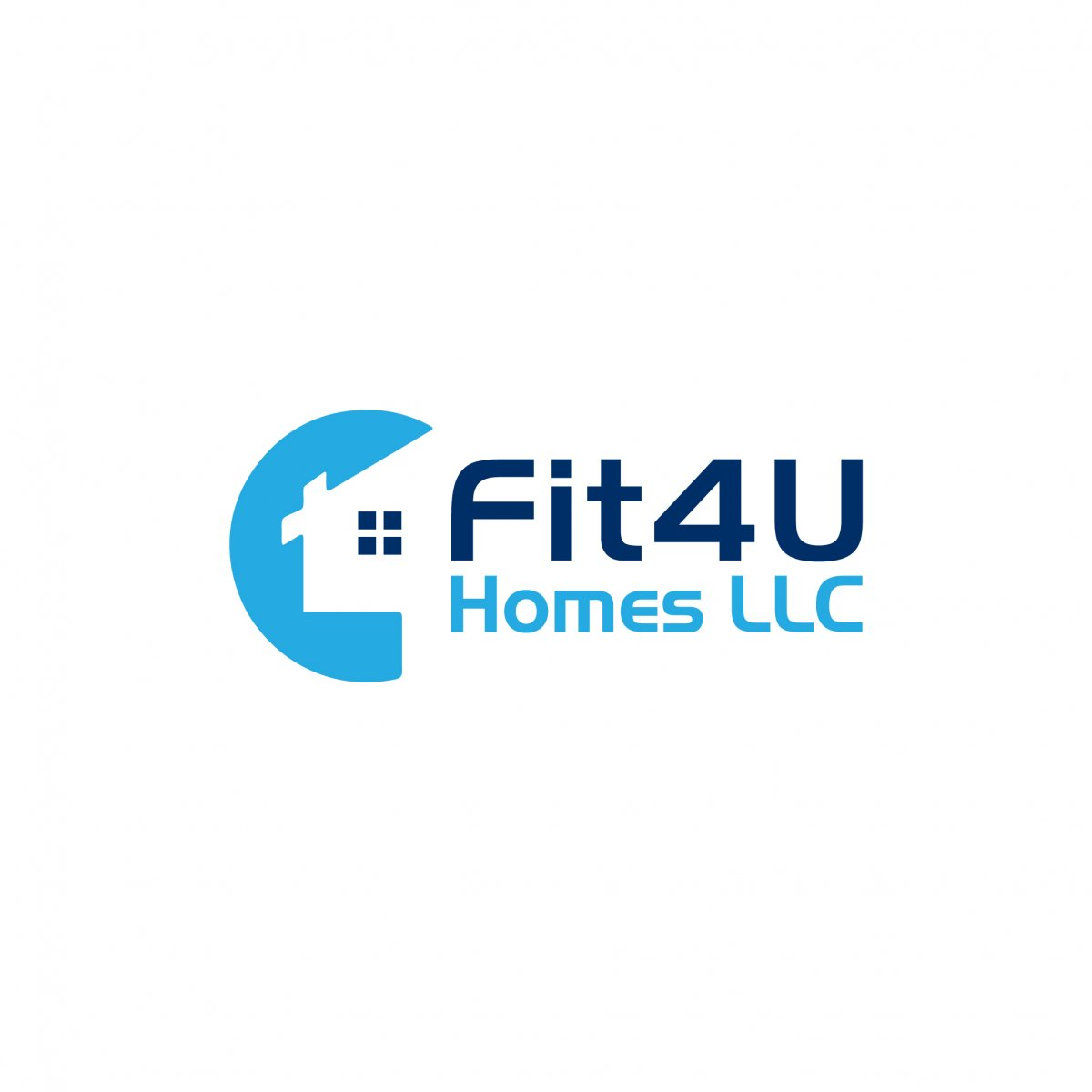 Fit4UHomes  logo
