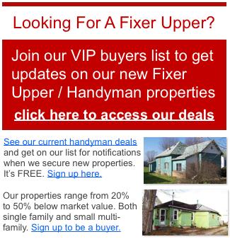 Corpus Christi TX fixer upper properties for sale
