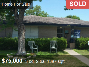 Discount property sold