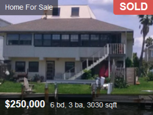 For sale -sold discounted property