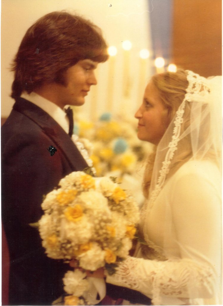 Roy and Kayla Married 1978