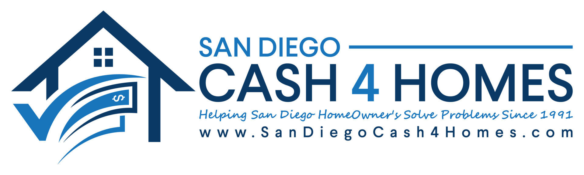 San Diego Cash 4 Homes logo
