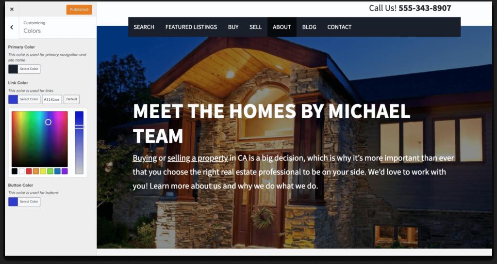 Customizable Real Estate Site Designs