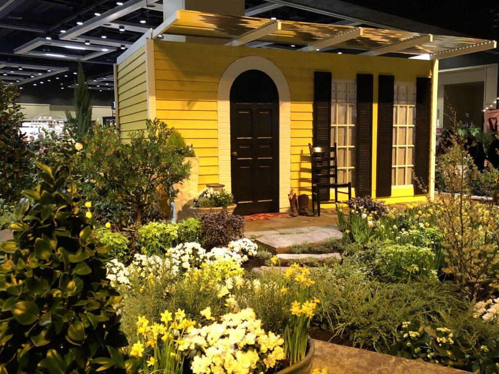 Northwest Flower and Garden Show In Downtown Convention Center