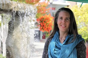 Emily Cressey, Seattle Real Estate Broker - At The U-Village Shopping Center in Seattle
