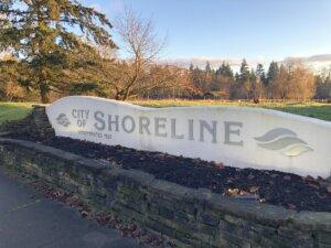Shoreline, Washington City Sign - Welcome everyone relocating to Shoreline, Washington.