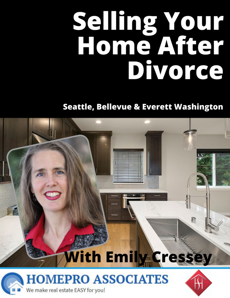 Selling your home after a divorce - PDF - Washington State