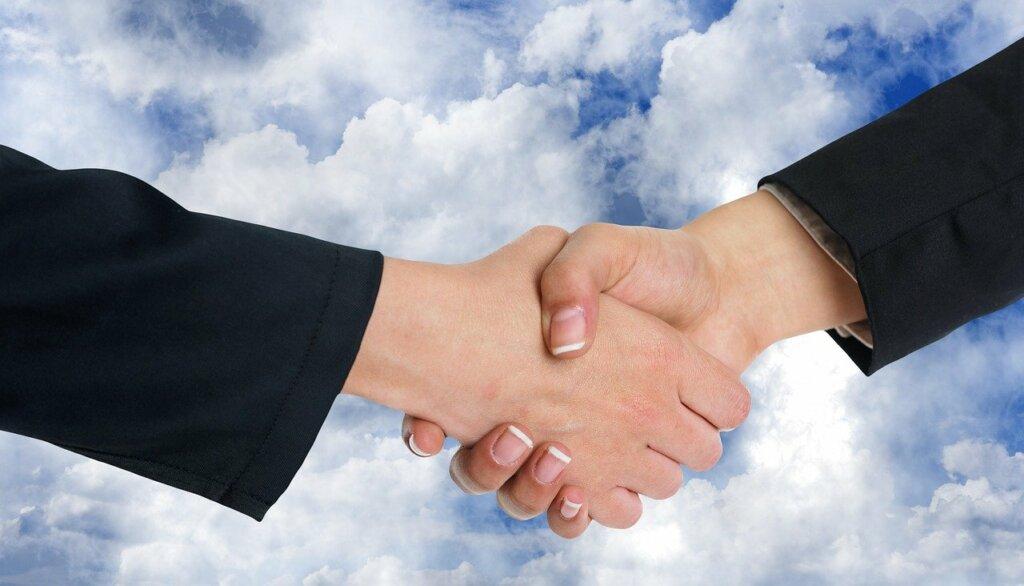 handshake on negotiations