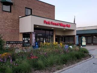 We buy houses Park Forest village hall building
