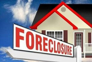 Real Estate Foreclosure Sign