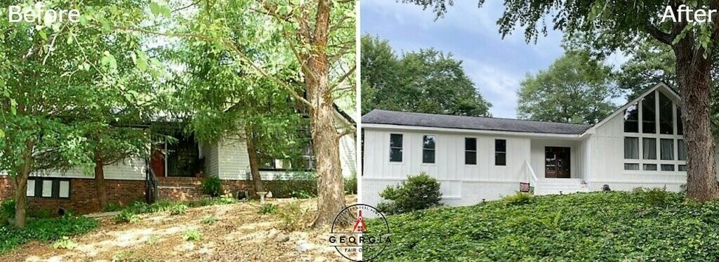 we buy houses cash Atlanta before and after