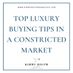 Top Luxury Buying Tips from Kimmy Rolph