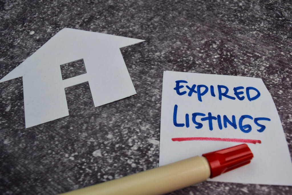 sell expired listings fast
