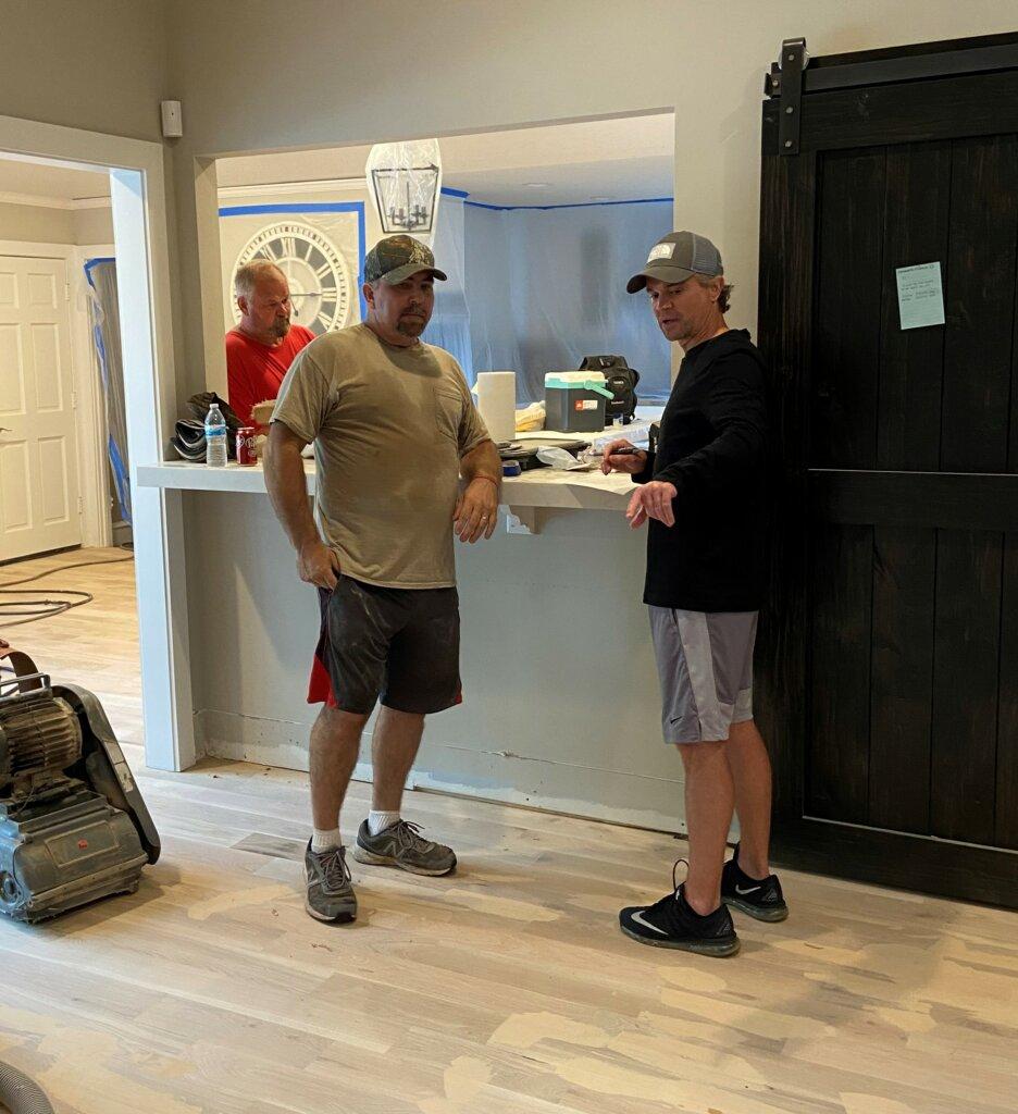 Legitimate home buyers photo of interior remodel