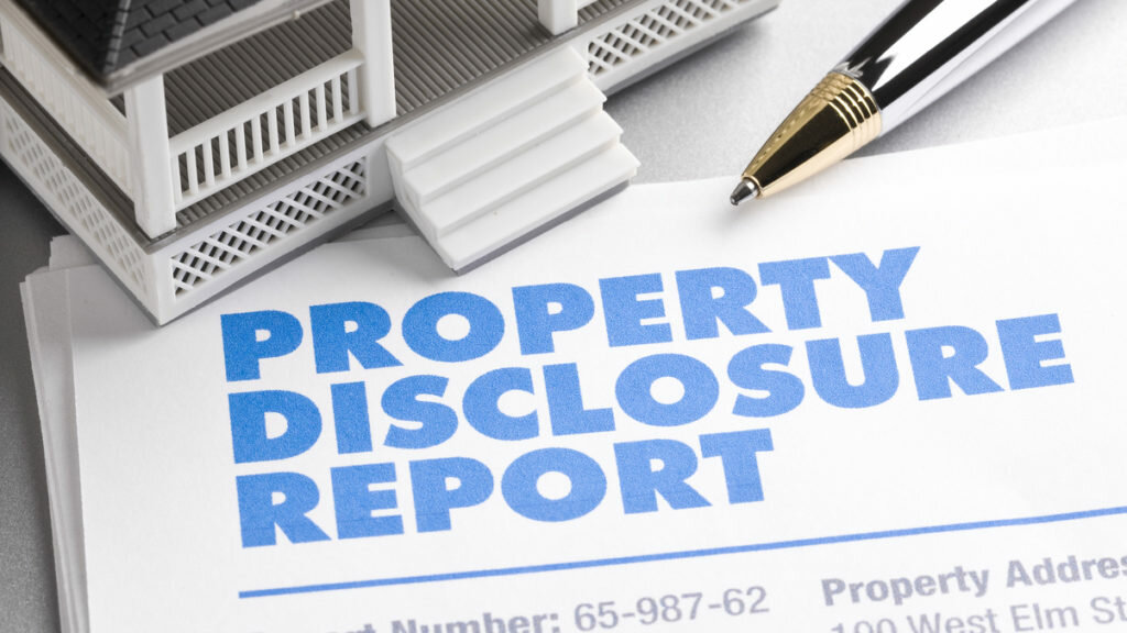 Real Estate Disclosures - What You Have to Share Legally in