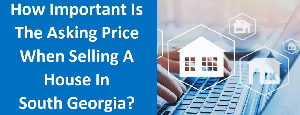 How Important Is The Asking Price When Selling A House In South Fulton, GA?