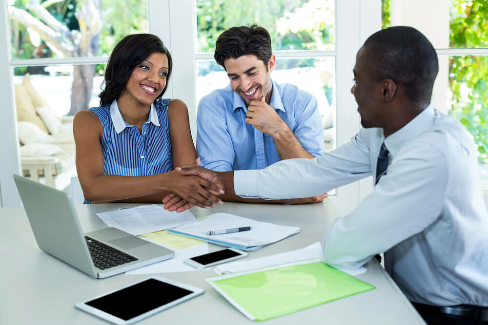 Talk to real estate professionals