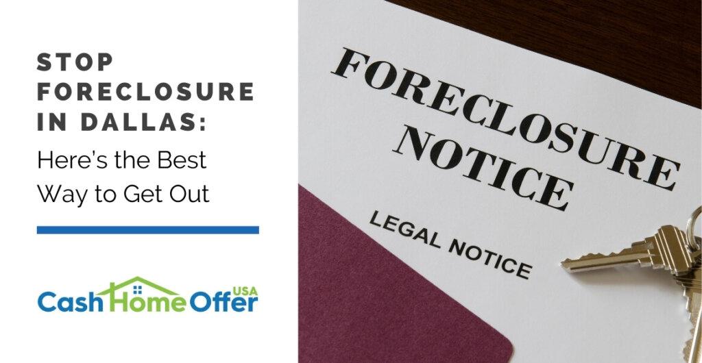 stop foreclosure in dallas