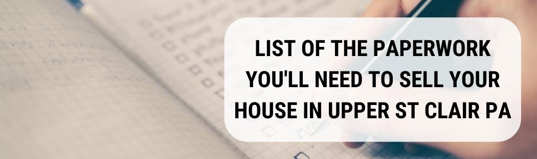 We buy houses in Upper St Clair PA