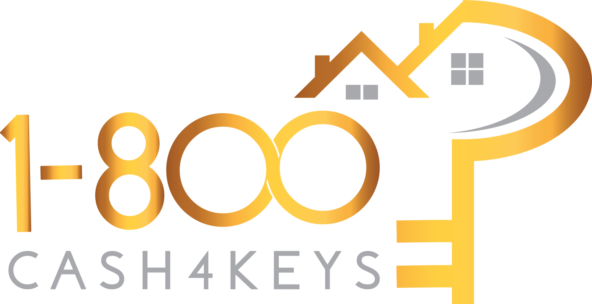 1-800Cash4Keys logo