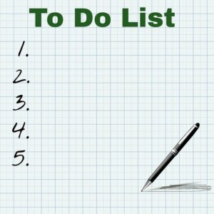 List the things you need to do when finding the right buyer
