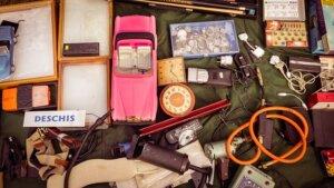 Do a garage sale to declutter stuff