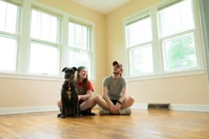 advantage of Lease option to test out the property first