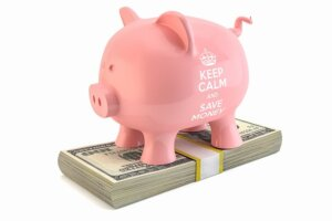 monthly payment to your own savings account