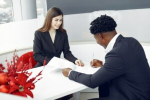 Purchase agreement paperwork when selling house in Tucson