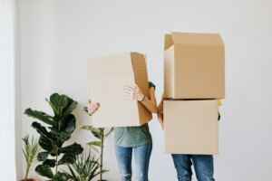 moving out time when working with a professional home buyer in Tucson