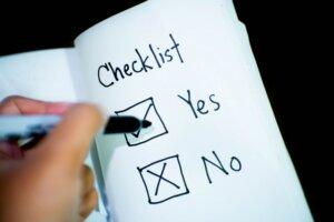 Real estate disclosure checklist