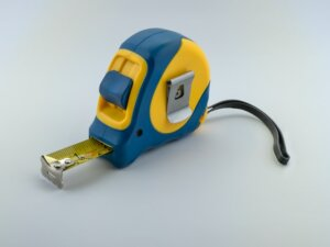 use tape measure when downsizing to new home