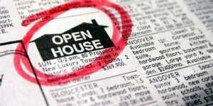 Advertise your property in the local newspaper