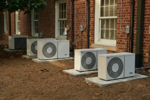 Check the air conditioning system during an inspection