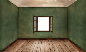 You need to downsize your house if you have a lot of empty rooms