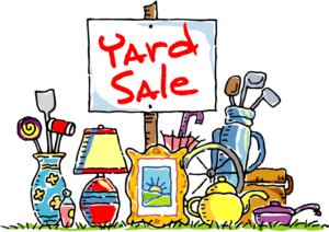 Sell your stuff using garage sales when downsizing your house in Tucson