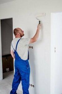 Try a do-it-yourself painting of your investment property