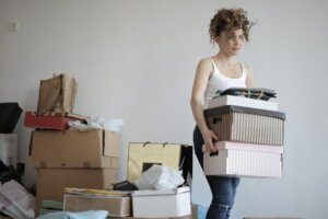 Unclutter and stage your home before selling