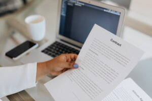 Create a legal contract for rent to own agreement in Tucson