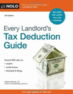 every landlord's tax deduction guide 12th edition