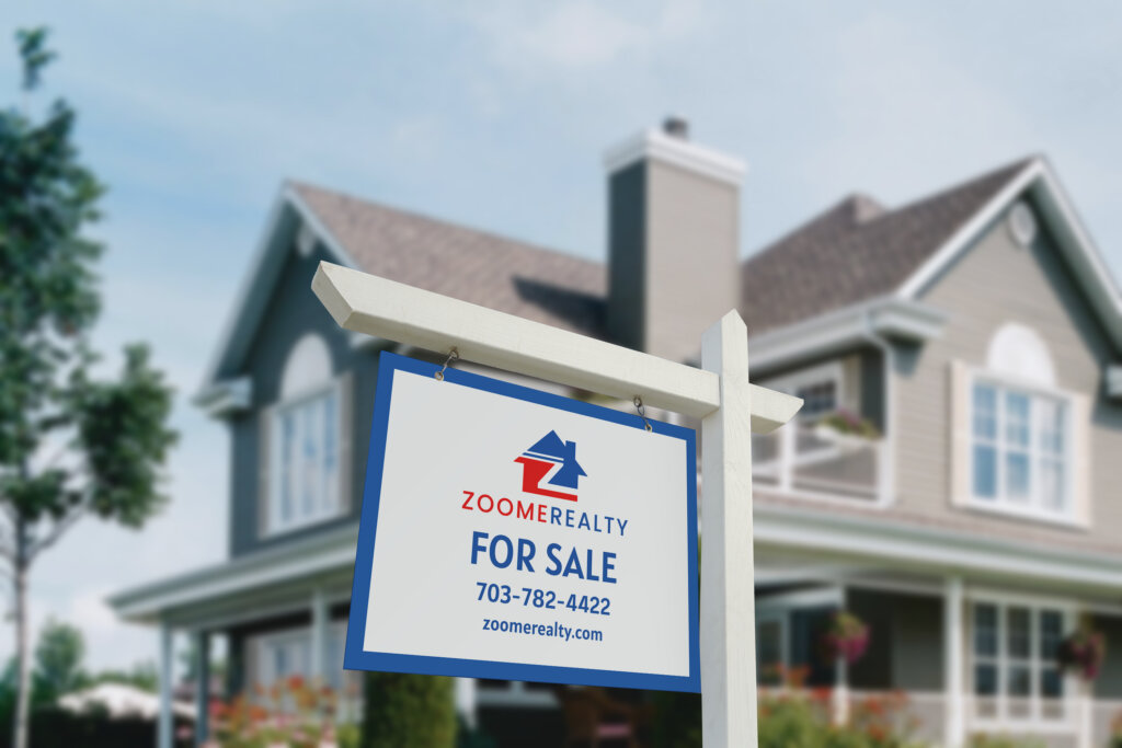 Zoome Realty Sold Sign