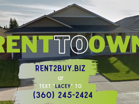 7307 33rd Way NE Lacey WA Rent to Own