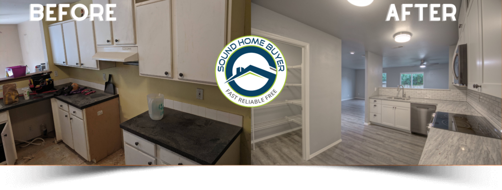 Before After Flip in Olympia WA Sound Home Buyer