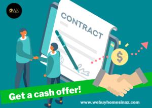 We Buy houses for cash! Get a cash offer.