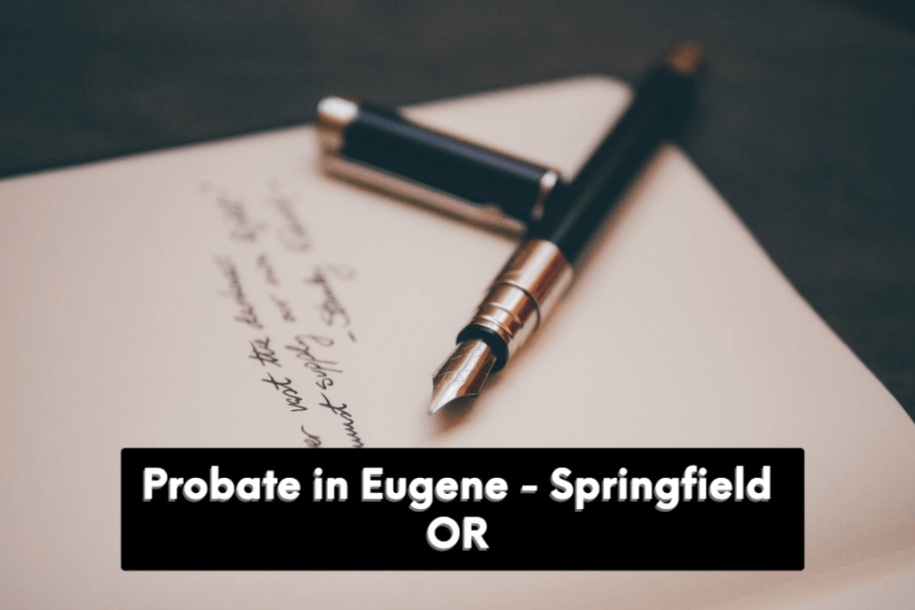 sell a house in probate in Oregon