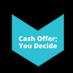 Step 3 Cash Offer You Decide