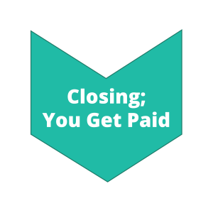 Step 4 Closing You Get Paid