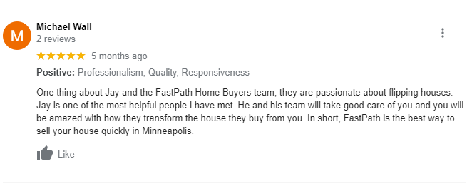 We Buy Houses in Burnsville MN Review 1