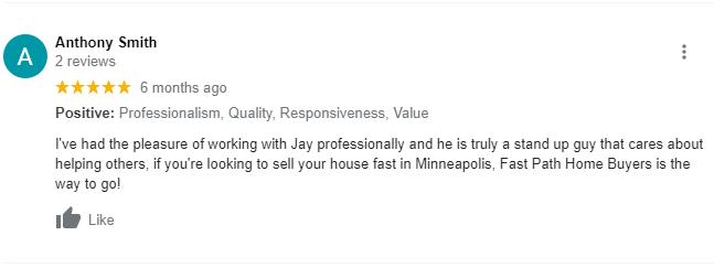 We Buy Houses in Burnsville MN Review 3